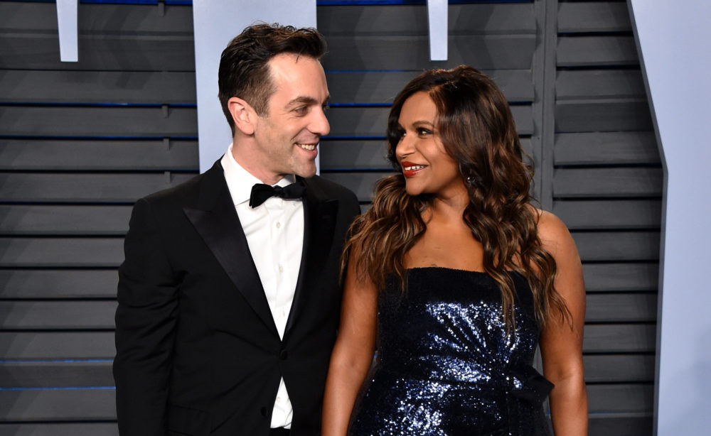 B.J. Novak gushing about how far Mindy Kaling's come will have you crying about soup snakes