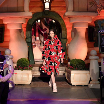 Disneyland hosted a rare, after-hours fashion show, and we wish fairy godmother had granted us tickets