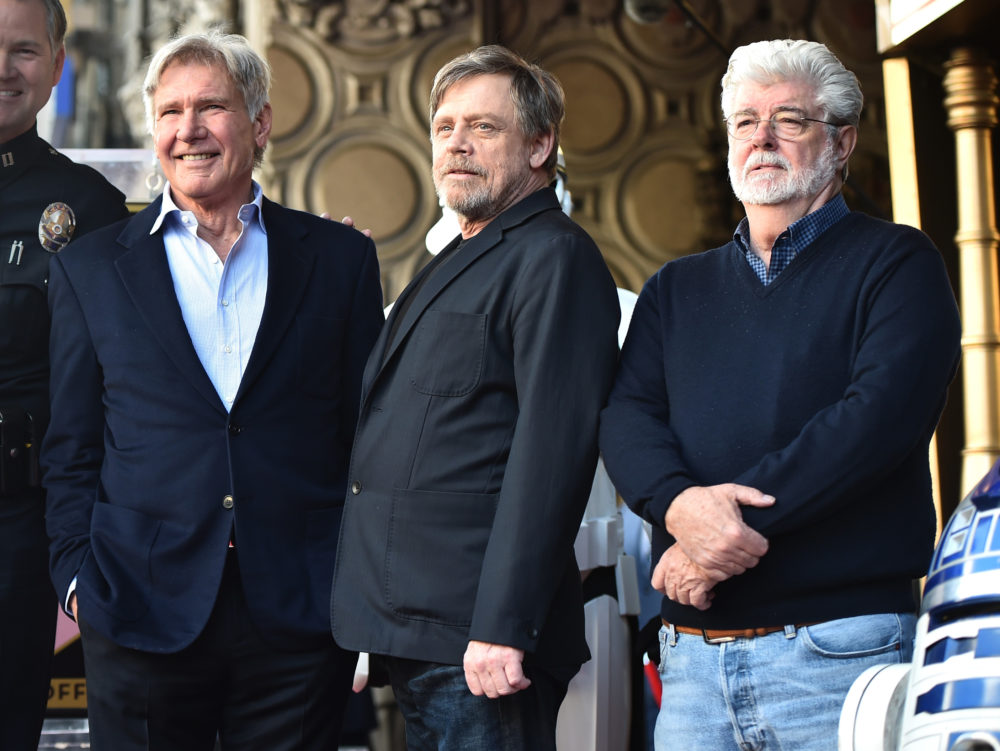Harrison Ford Felt Carrie Fisher S Presence At Mark Hamill