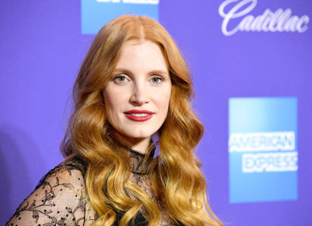 Jessica Chastain disagreed with someone in her Instagram comments — and then donated $2,000 to her fertility treatment