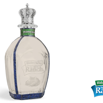 A diamond-encrusted bottle of Hidden Valley Ranch exists, and happy National Ranch Day to us