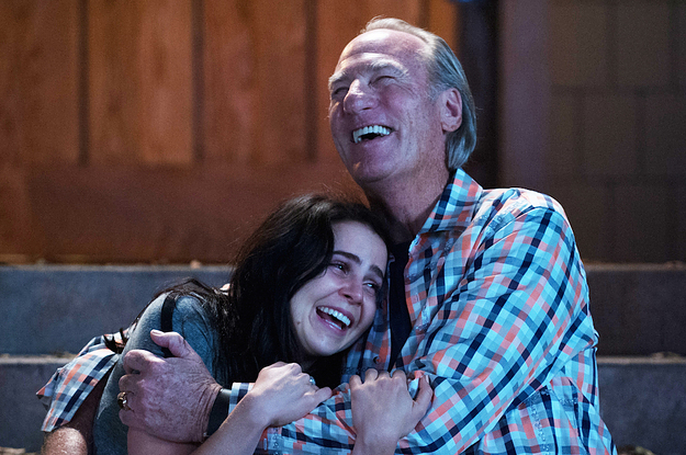 "Mae Whitman said this ""Parenthood"" scene between Amber and Zeek was completely improvised, and we're going to need more tissues"