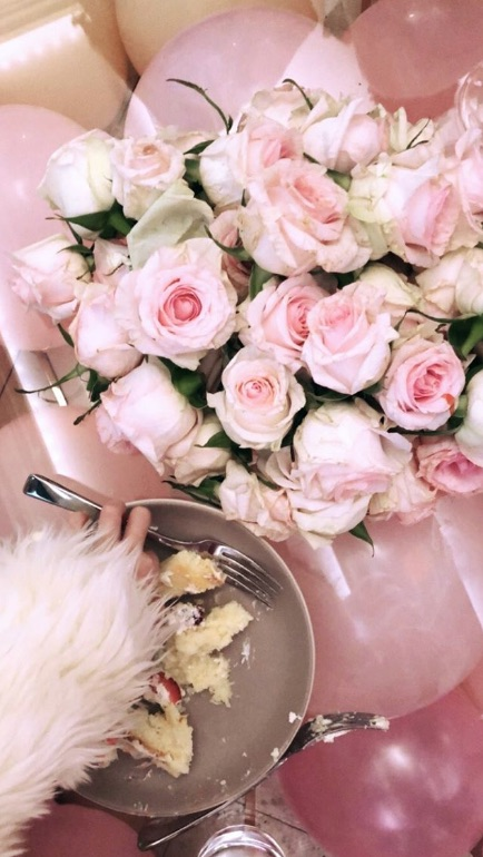 Pictures Of Khloe Kardashians All Pink Baby Shower For Baby