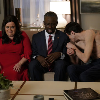 "Sterling K. Brown spoofed ""This Is Us"" in his first turn as ""SNL"" host, because of course he did"