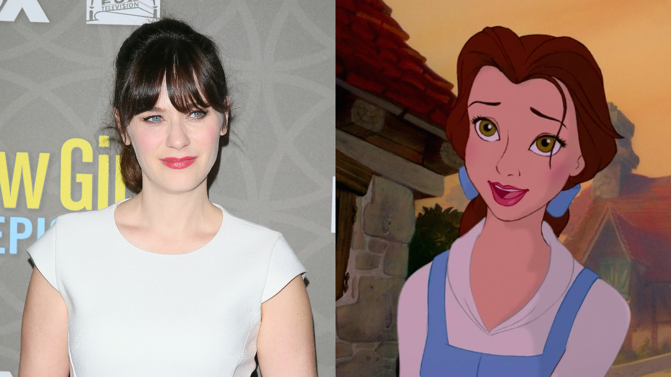 Say bonjour to our new Belle — Zooey Deschanel is playing the beloved Disney Princess at the Hollywood Bowl