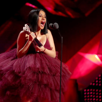 Cardi B literally thanked her haters in her iHeartRadio acceptance speech