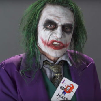 For your consideration: here's Tommy Wiseau auditioning to be The Joker