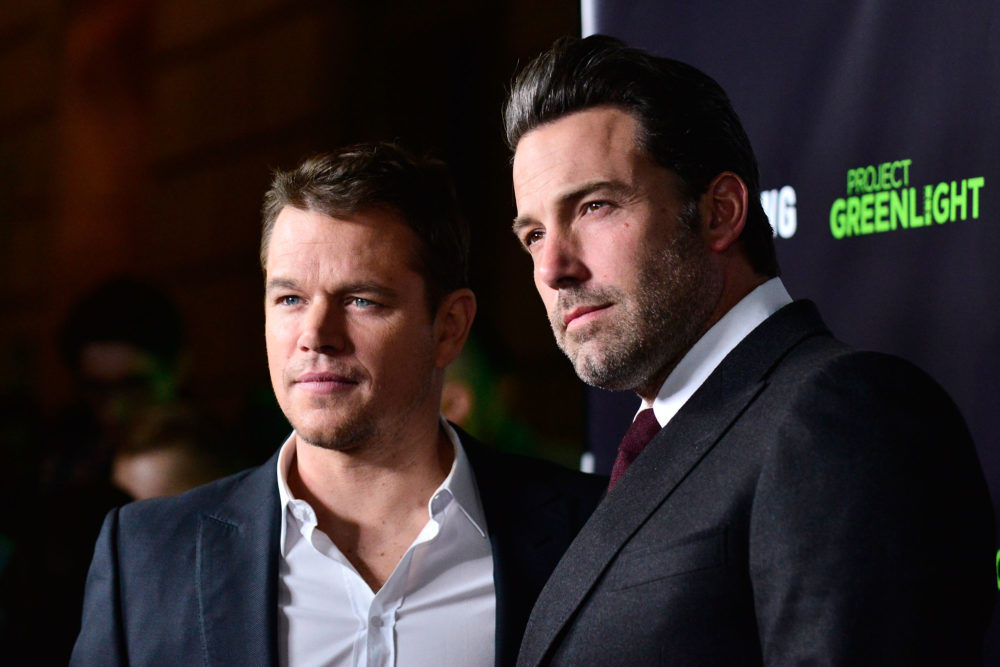 Matt Damon and Ben Affleck are getting the side eye for adding inclusion riders to their projects, but at least they're DOING SOMETHING