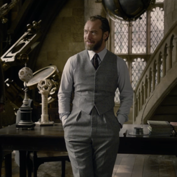 Twitter will never *not* be thirsty for Young Hot Dumbledore