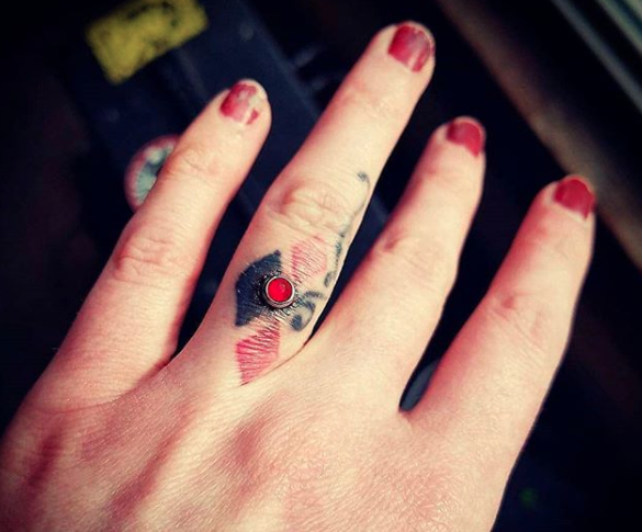 Engagement ring piercings are apparently a thing, and ouch