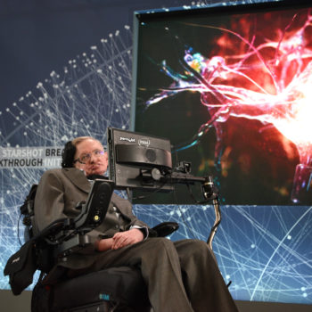 This is the mega-inspiring Stephen Hawking quote everyone is sharing today