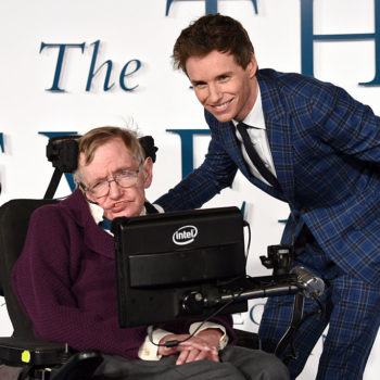 """Theory of Everything"" star Eddie Redmayne praised late physicist Stephen Hawking in a touching tribute"