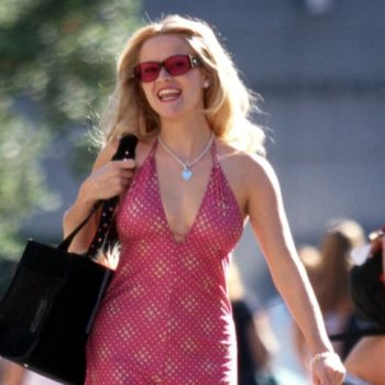 "This reporter gave her ""Legally Blonde"" dissertation to Reese Witherspoon — and obviously, it was scented"