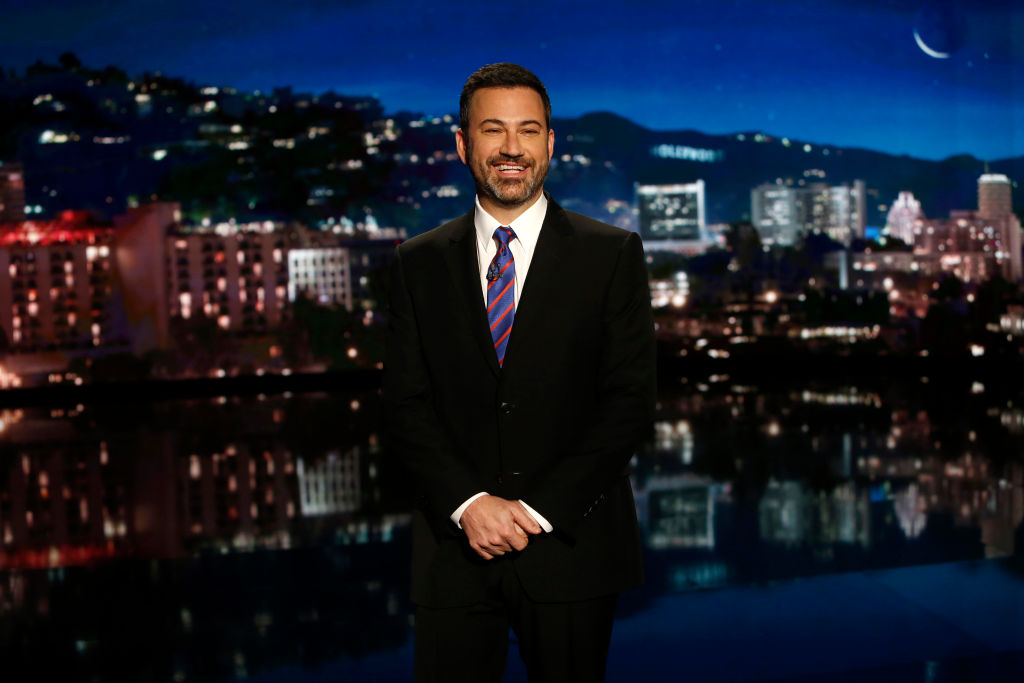 Jimmy Kimmel is filing a federal complaint against Trump — for real