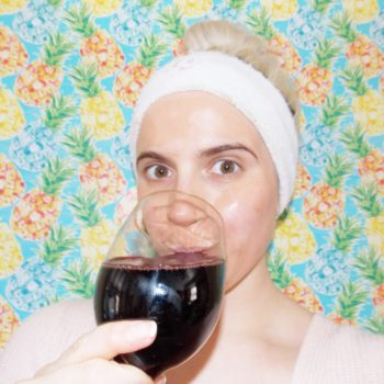 This is how to make a wine-infused face mask without having to sacrifice an entire glass
