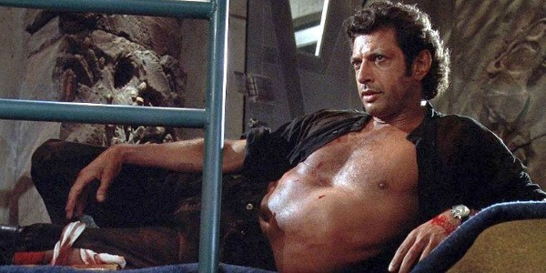 "Oh, so there's an actual reason Jeff Goldblum's shirt is like *that* in ""Jurassic Park"""