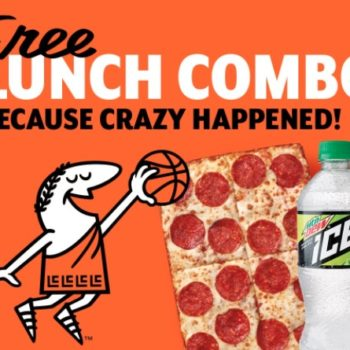 Everyone just scored a free Little Caesars lunch combo thanks to this unlikely March Madness win