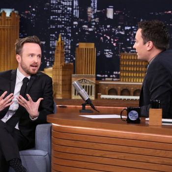 Aaron Paul shared the story behind his daughter's name, and it's a shoutout to his first date with his wife
