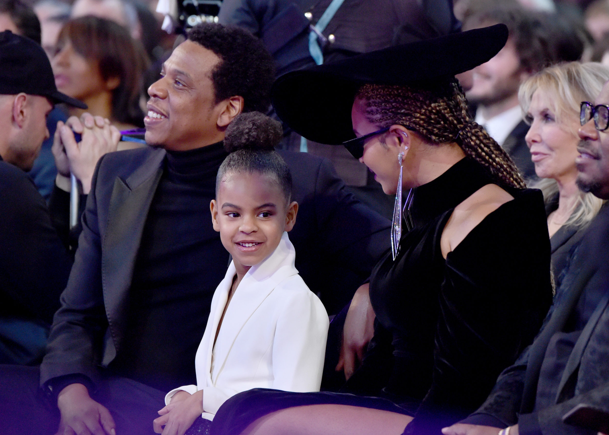 Blue Ivy bid $19,000 at an art auction like it was no big deal, and we bow down