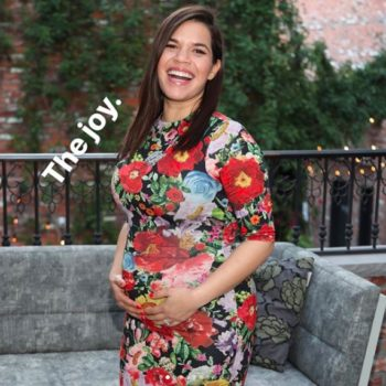 "America Ferrera's co-ed baby shower was a joyous celebration with her ""Ugly Betty"" and ""Superstore"" families"