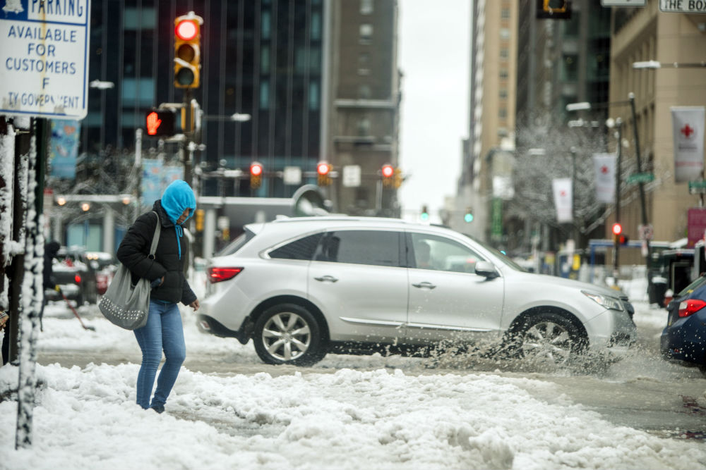 Will the fourth nor'easter hit Philadelphia? You're gonna wanna grab your winter boots