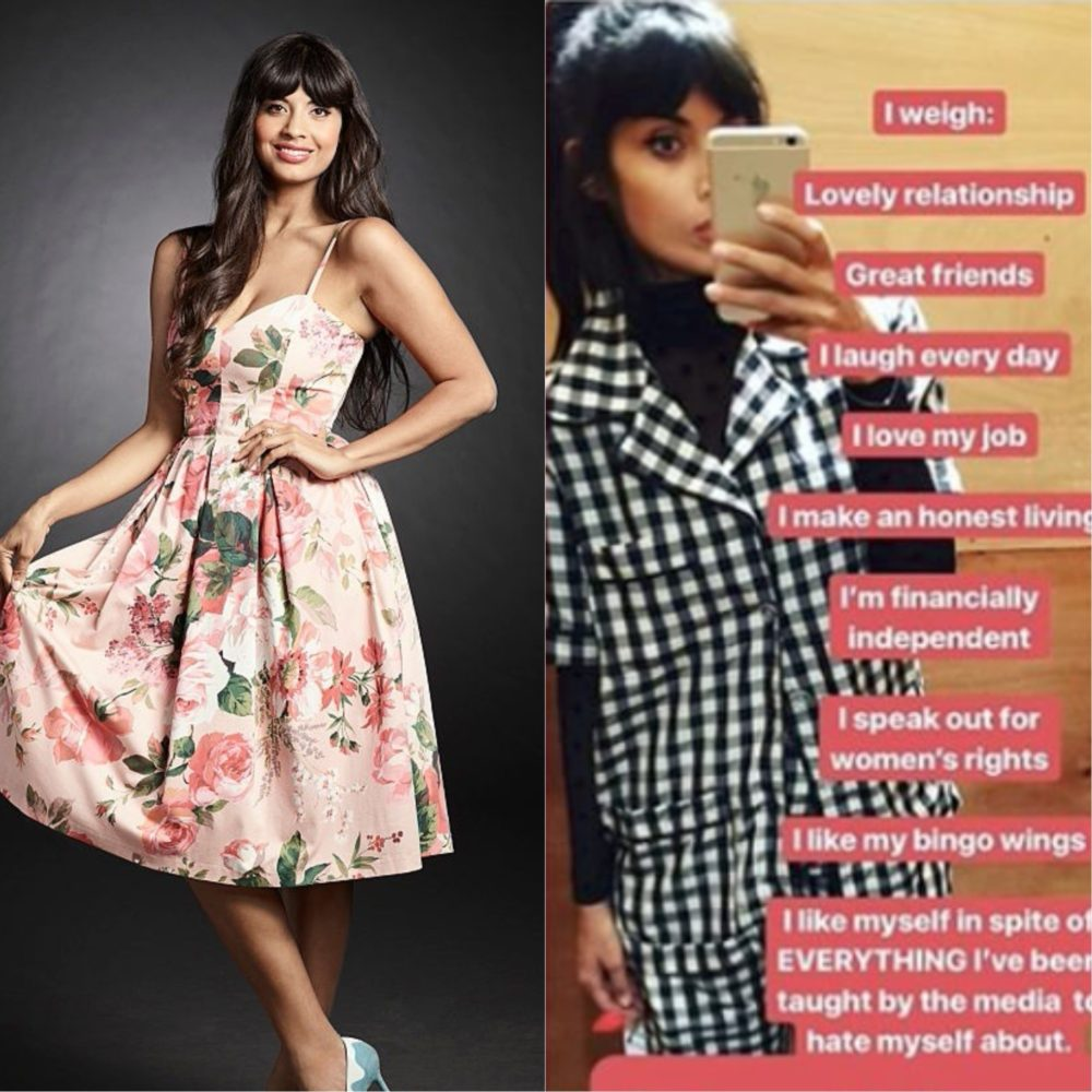 Image result for jameela jamil i weigh