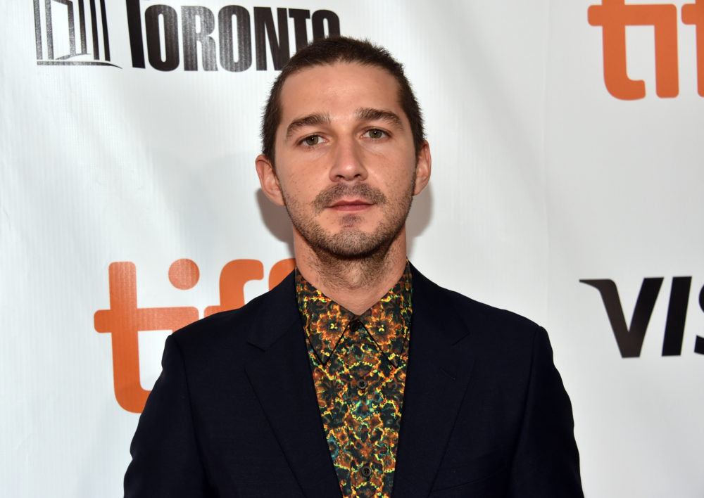 Shia LaBeouf is starring in a movie about himself, but TWIST — he's not playing Shia LaBeouf