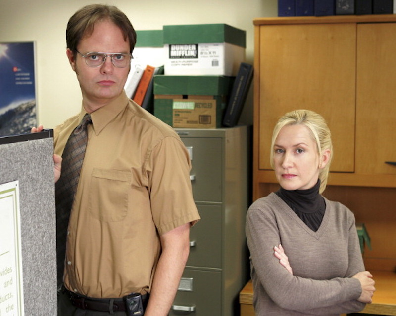 "Why Angela and Dwight were the greatest love story on ""The Office"" — not Jim and Pam"