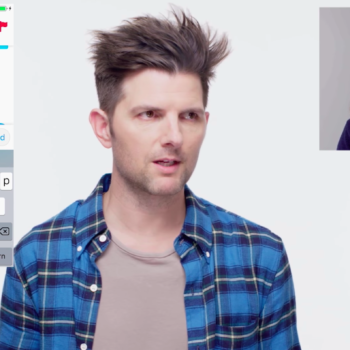 Adam Scott took over someone's Tinder, made sure to vet thoroughly for murderers