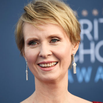 Reminder: Cynthia Nixon won a Grammy, and the reason why will make you want to vote for her