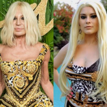 """I copied Donatella Versace's signature makeup so I can channel her during the """"American Crime Story: Versace"""" finale"""