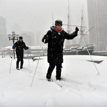 Looks like Baltimore may be getting more snow from Winter Storm Toby than we thought