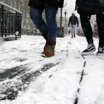 The governor of New Jersey has declared a state of emergency thanks to Winter Storm Toby