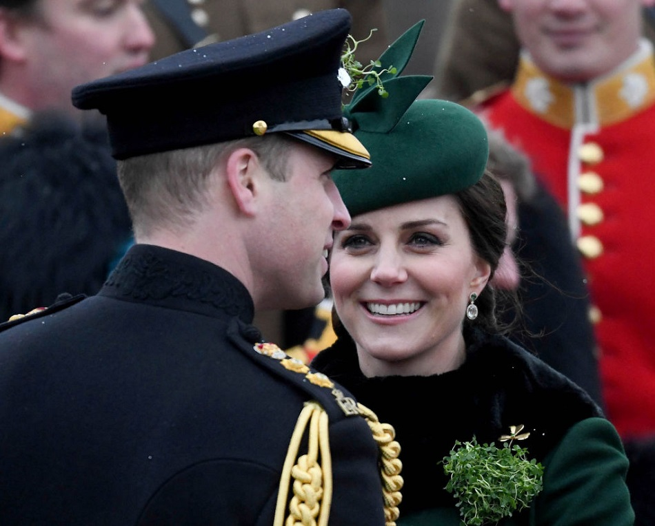 Prince William and Kate Middleton Showed Rare PDA ...