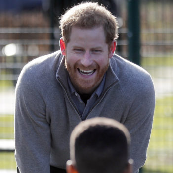 We know when Prince Harry wants kids, and whoa, it's sooner than we thought