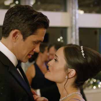 Hallmark is making *34* Christmas movies this year — and for them, Christmas starts October 27th