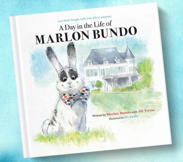John Oliver's gay bunny book has already sold out, but here's how you can get a copy
