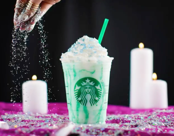 The calories in Starbucks's Crystal Ball Frappuccino might make you forget about your future