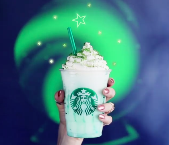 What's actually in the new Starbucks Crystal Ball Frappuccino? Fairy dust? Unicorn tears?