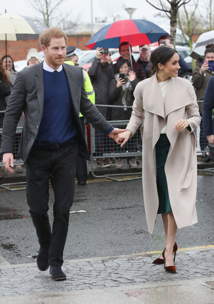 Meghan Markle Wore A Cool Creamy Transitional Spring Coat