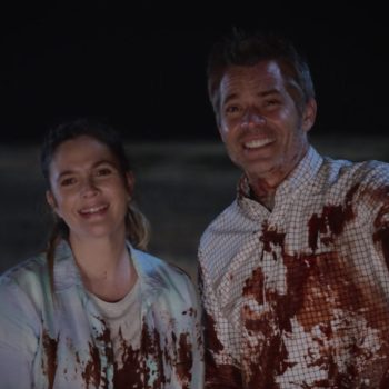 """Drew Barrymore lied to her kids about why she came home from shooting """"Santa Clarita Diet"""" covered in fake blood"""