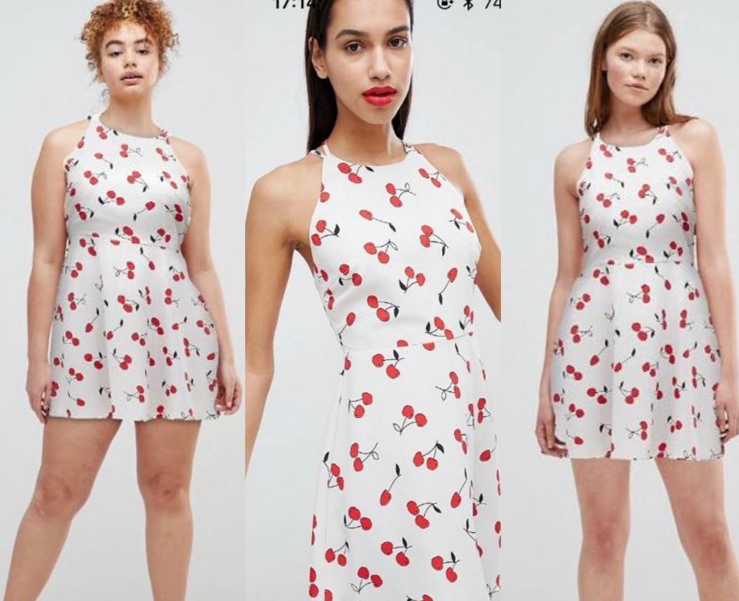 The ASOS app now shows how an item looks on different body types, and we'll shop to that