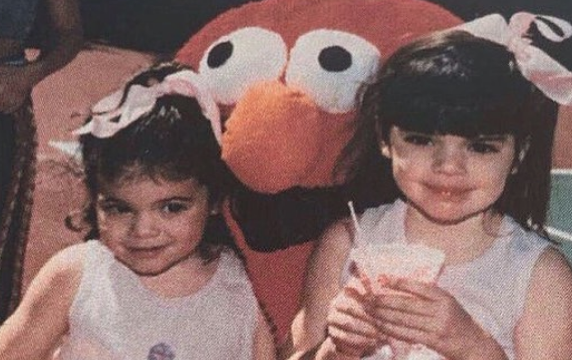 Kylie Jenner posted side-by-side pics with her baby, and they're practically twins