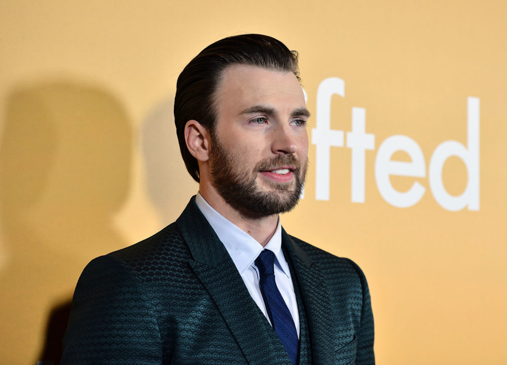 Chris Evans' key to being an ally in the #MeToo era is to listen more, and amen
