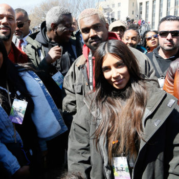 Kim Kardashian penned an emotional Instagram post about taking her daughter North to the March For Our Lives