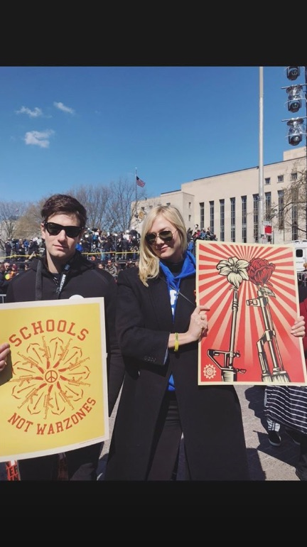 Joshua Kushner Attended the March For Our Lives With ...