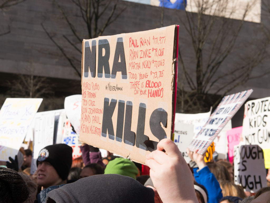 The NRA mocked the March For Our Lives protesters on Facebook, and uh, get a life