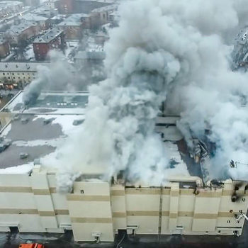 A fire killed at least 64 people in a Russian mall — and the video is tragic