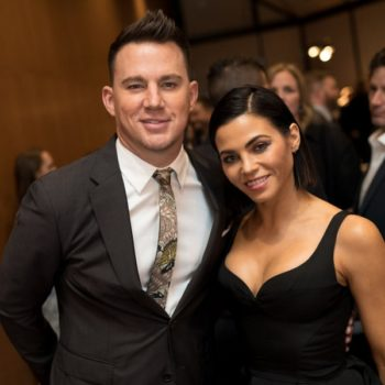 We finally glimpsed Channing Tatum and Jenna Dewan Tatum's daughter Everly for the first time ever