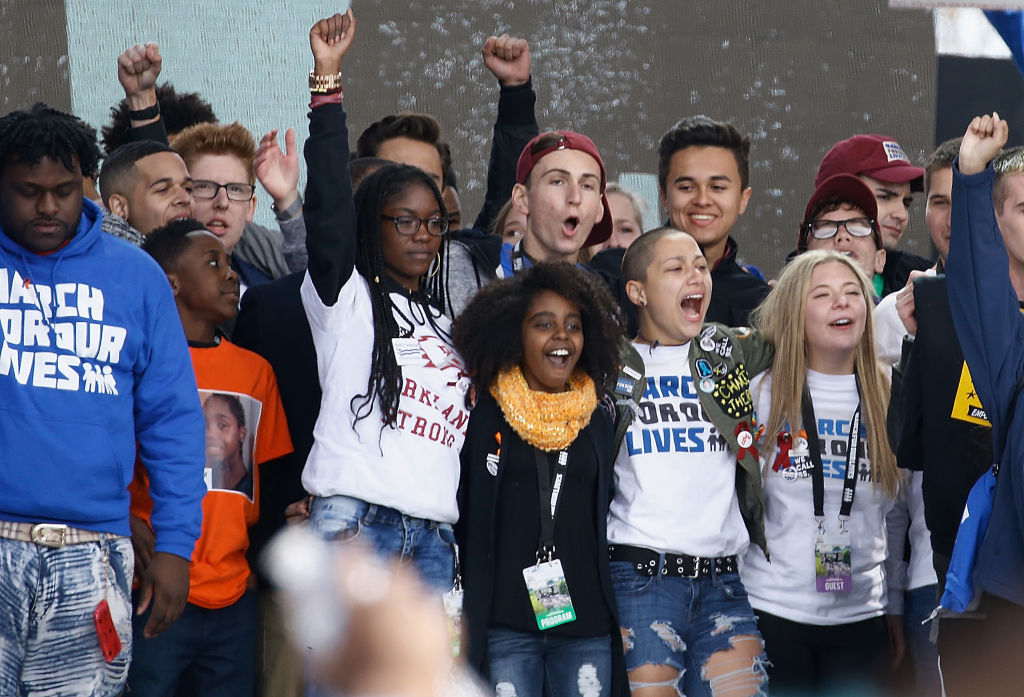 So many people registered to vote at March for Our Lives, and that is how a moment becomes a movement